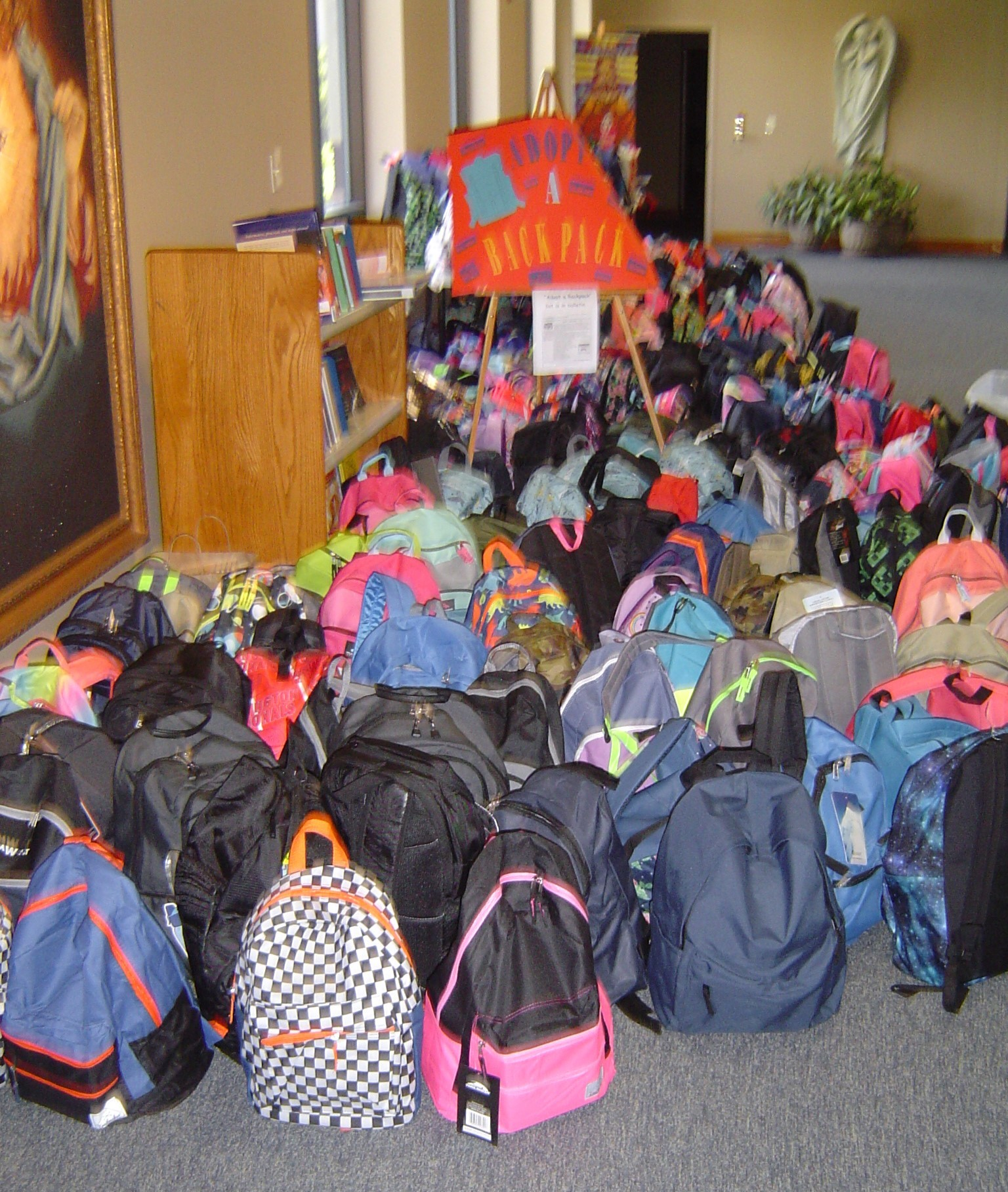 Adopt a Backpack Thank You